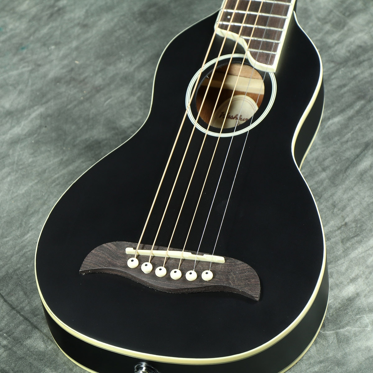 Washburn RO10SBK (ブラック) トラベルギター【WEBSHOP】