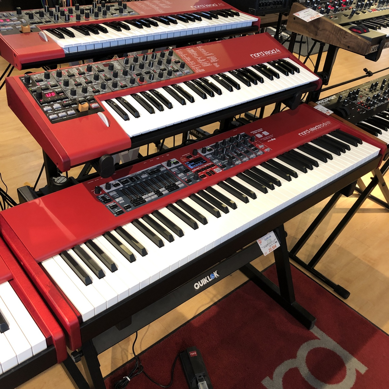 CLAVIA Nord Electro 6 HP73 [exhibit Sale of a single limited!] []
