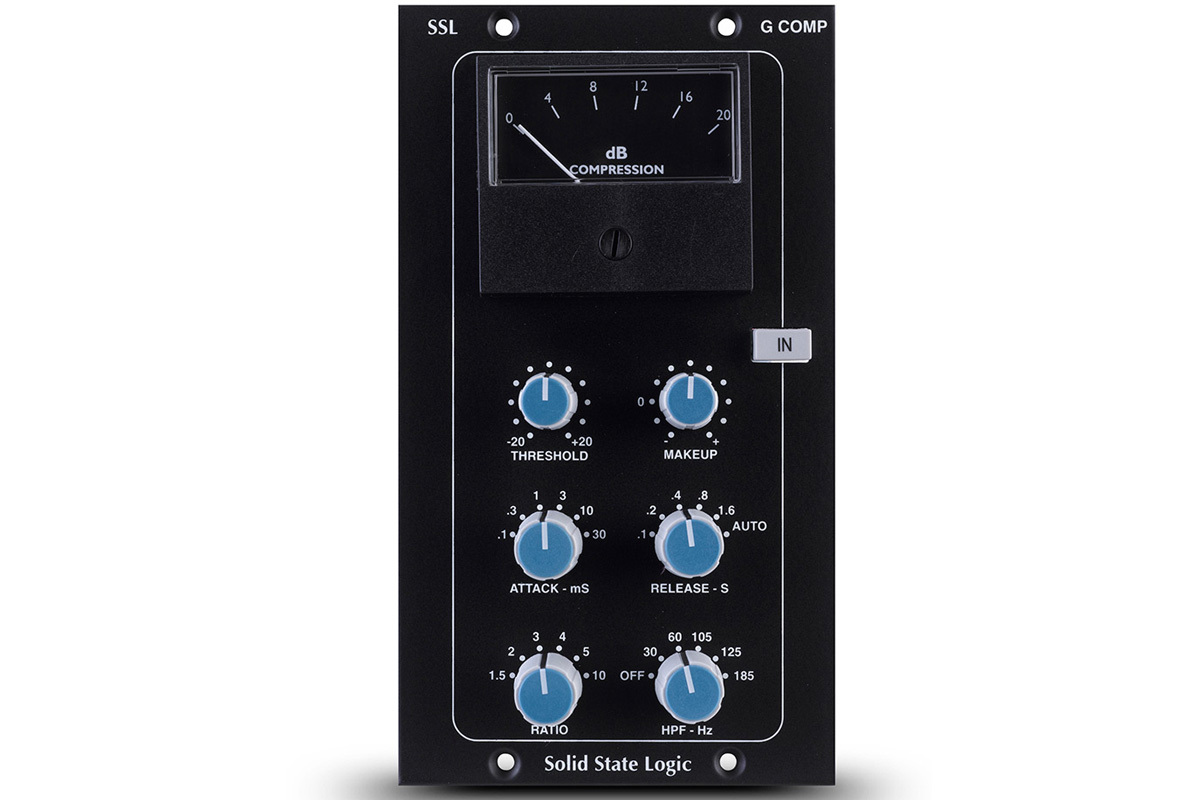 Solid State Logic(SSL) Stereo Bus Compressor module for 500 format rack【WEBSHOP】