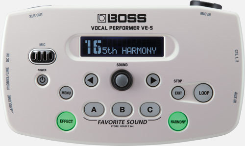 BOSS VE-5 / Vocal Performer