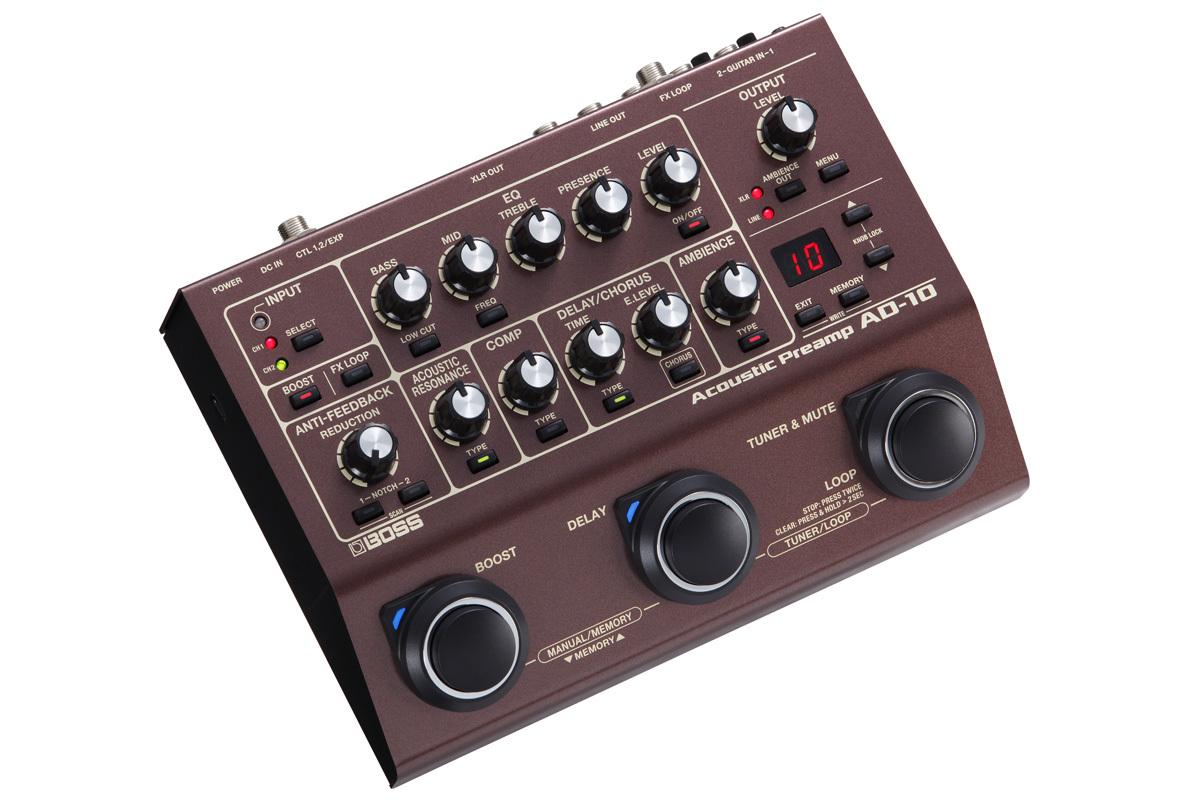 BOSS AD-10 Acoustic Preamp Acoustic pre-amplifier [Yokohama]