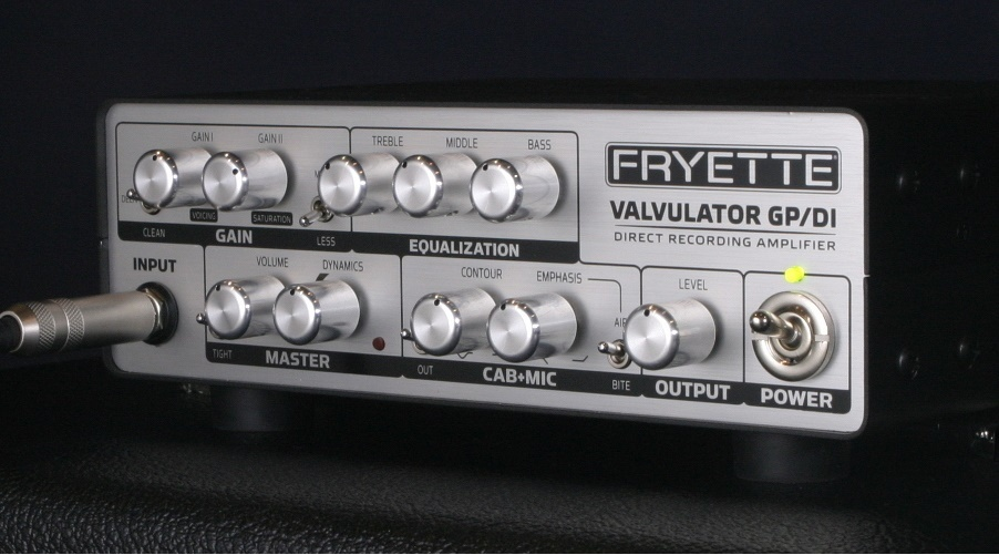 FRYETTE VALVULATOR GP / DI 1W full tube amplifier [possible instant delivery]