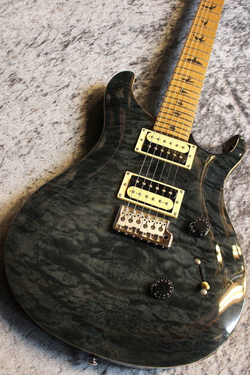 Paul Reed Smith(PRS) SE Custom24 Roasted Maple  Gray Black ♯T12319 【限定モデル】【珍杢個体】【ローステッドメイプル】