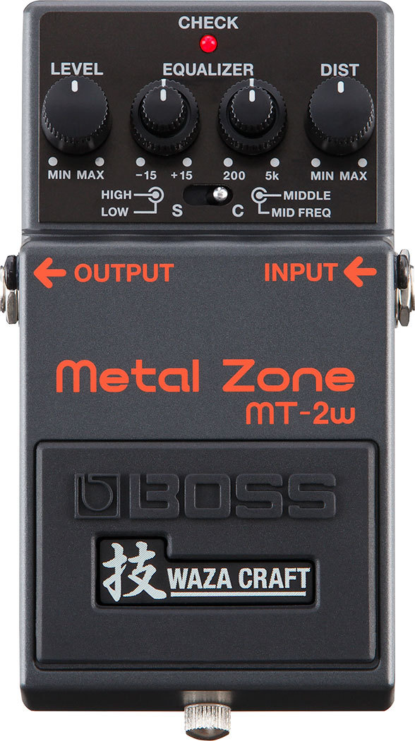 BOSS [it can instant delivery!] MT-2W Metal Zone [Dejimato limited + 9V battery one more service!]