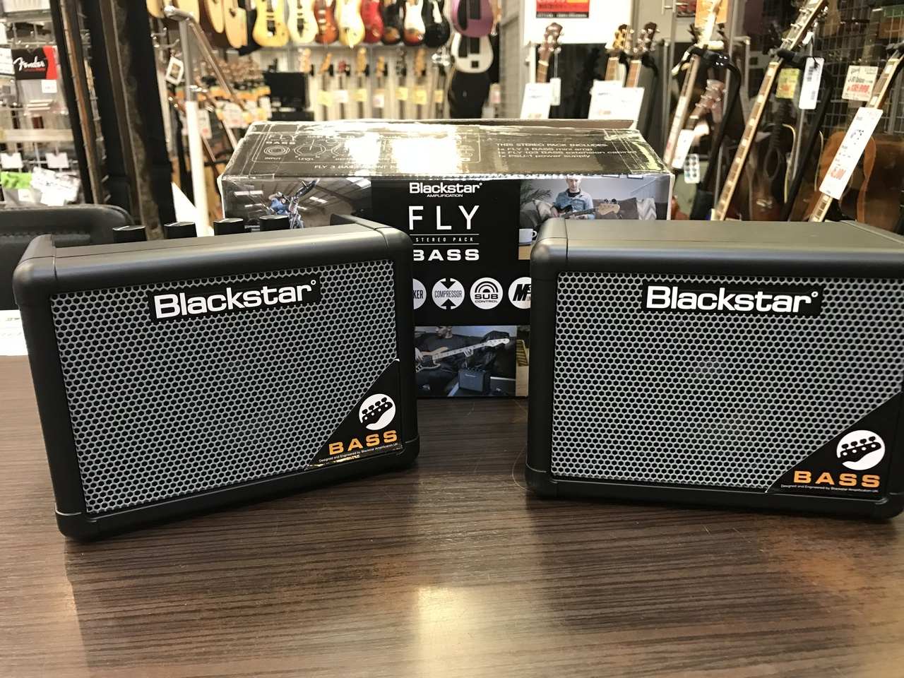 Blackstar Fly 3 Bass Stereo Pack 【アウトレット特価】【ベースアンプ】
