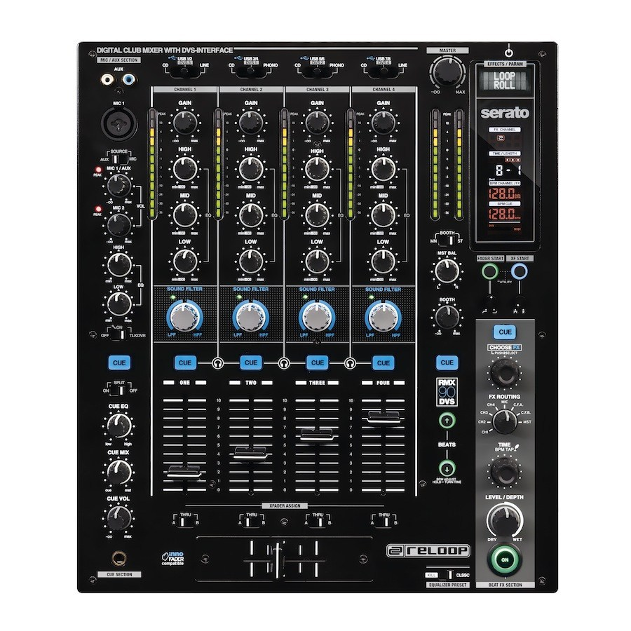 reloop RMX-90DVS storefront display goods