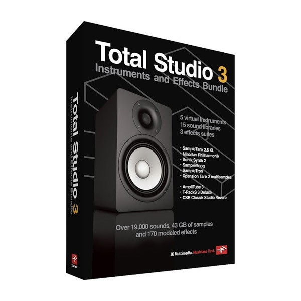 IK Multimedia [New Specials] total Studio3 Bundle / [DAW software and plug-ins]