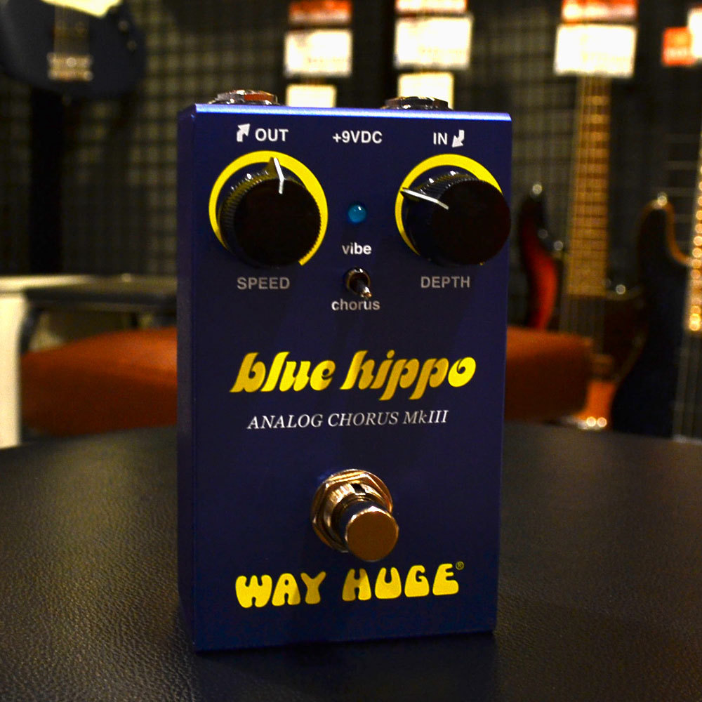 Way Huge WM61 SMALLS BLUE HIPPO ANALOG CHORUS【即納可能】