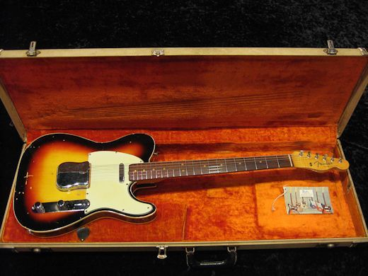 Fender 1964 Custom Telecaster Sunburst/Rose