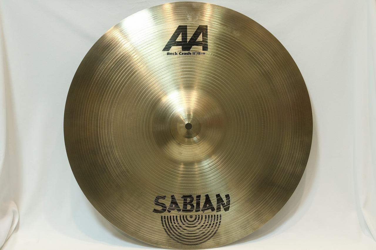 "SABIAN AA 19"" Rock Crash【在庫ございます!!!!】"