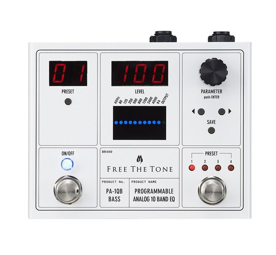 免費的音PA-1QB PROGRAMMABLEANALOG 10波段均衡器[心齋橋]