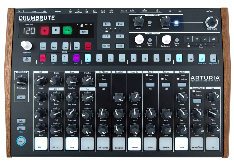 Arturia DRUMBRUTE [1 one limited box rags Class B Specials !! of until the end of the month] []