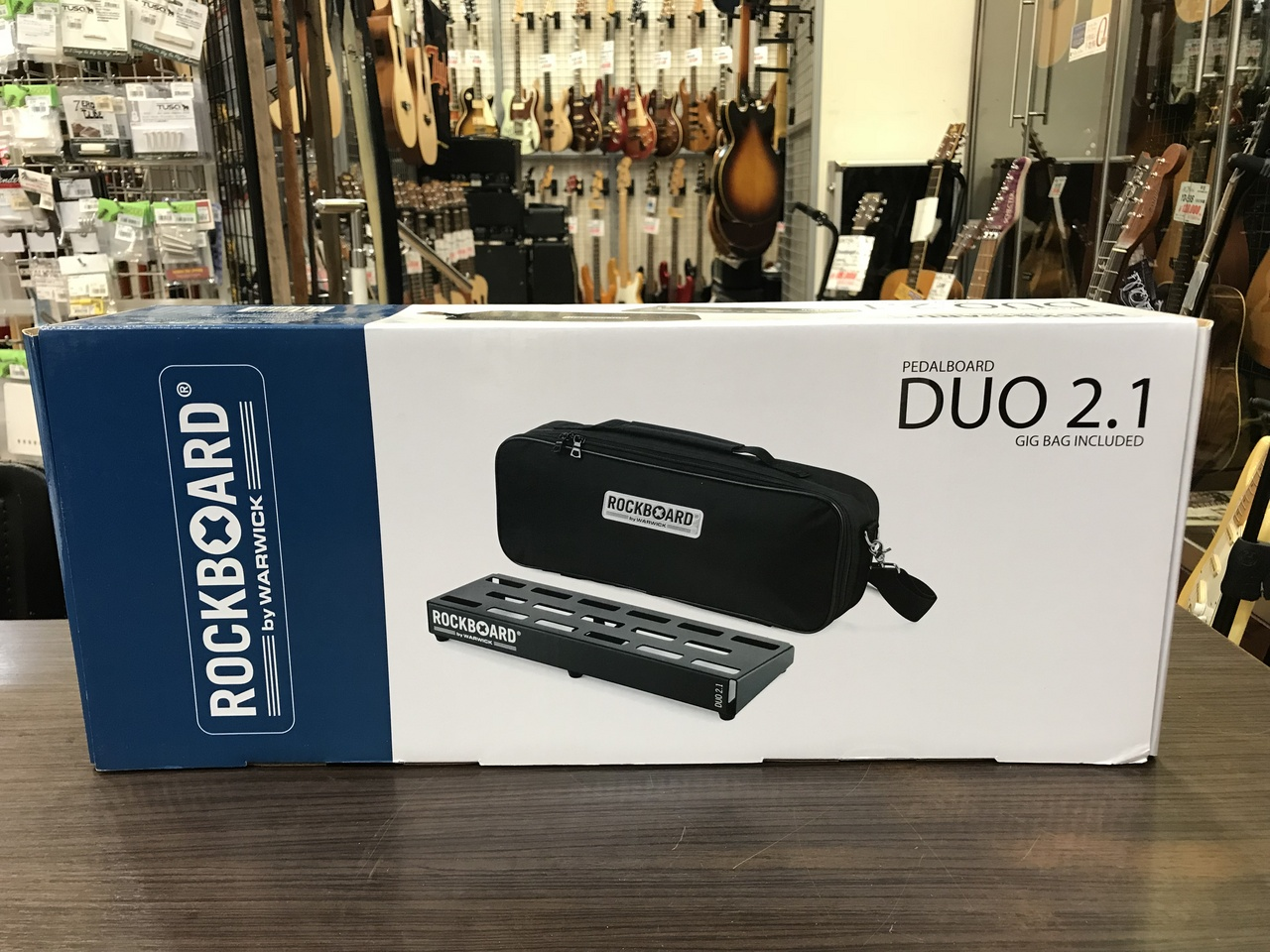 RockBoard Duo 2.1 w / Gig Bag 460 x 146 mm Outlet Specials]
