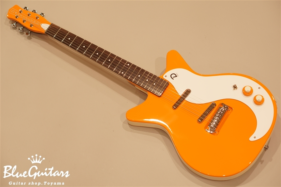 "Danelectro 59 ""M"" NOS + - Orange-Adelic"