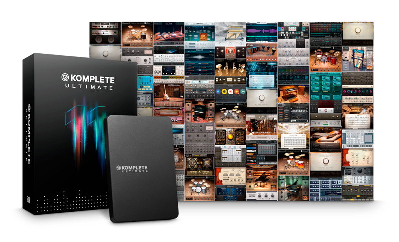 NATIVE INSTRUMENTS KOMPLETE 11 ULTIMATE UPG 8-11 [limited time 50% off campaign!] [!]