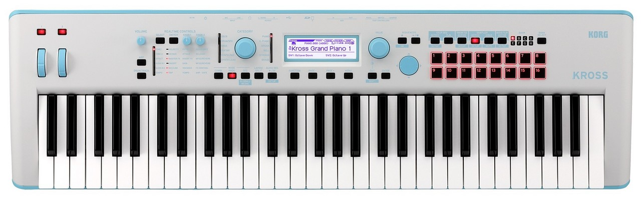 KORG KROSS 2-61-GB Gray-Blue