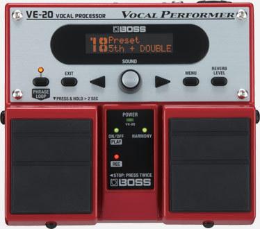 BOSS VE20 / vocal effector