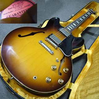Gibson Memphis Historic Series 1963 ES-335TD VOS Historic Burst 2015年製です