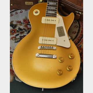 Gibson Custom Shop Standard Historic Japan Special Run 1956 Les Paul Reissue Gold Top Heavily Aged(#67015)