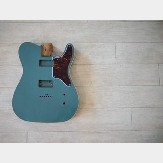 MJT Top Bound Cabronita Telecaster Body - Alder - Sherwood Green - Light Relic