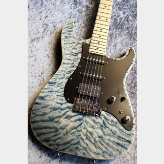 TOM ANDERSON Shorty Drop Top Classic Hollow Chambered Natural Arctic Blue with Binding 【極杢個体】【セミホロー】