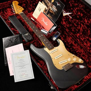 "Fender Custom Shop ONE-OFF 2019 Limited ""BigHead"" Strat Journeyman Relic Aged Charcooal Frost Metallic 【渋谷店】"