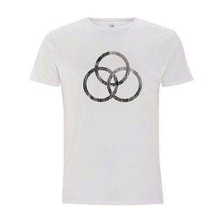 Promuco Percussion POSJBTS2M Mサイズ Tシャツ John Bonham T-Shirt WORN SYMBOL White
