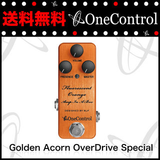 ONE CONTROL Golden Acorn OverDrive Special オーバードライブペダル