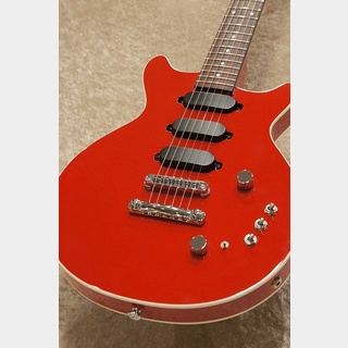 "Kz Guitar Works Kz One Semi-Hollow 3S23 T.O.M  ""Solid Red""【ショッピングクレジット48回無金利!!】【名古屋店】"