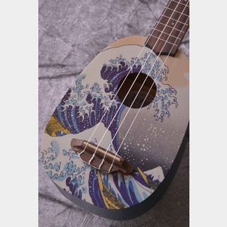 Luna Guitars Artistic Great Wave Soprano (UKE GWS)