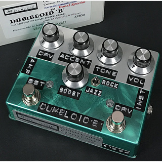 Shin's Music Dumbloid B Boost Special Green Scratch #1954 【新宿店】