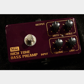 TRIAL RICH TONE BASS PREAMP
