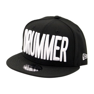 DRUMMERS TOP TEAM DTT CAP02 MAKE : NEW ERA SNAPBACK(9FIFTY) ドラマーズトップチームキャップ 黒×白