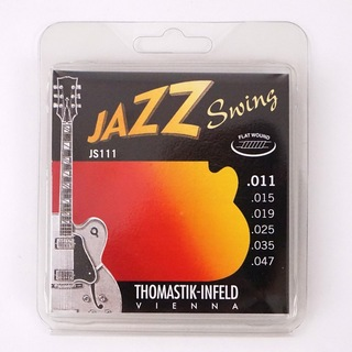 Thomastik-Infeld JS111 JAZZ SWING Flat Wound フラットワウンドギター弦