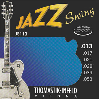 Thomastik-Infeld JS113 JAZZ SWING Flat Wound 13-53 【WEBSHOP】