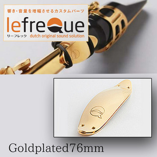 LefreQue Gold Plated 76mm