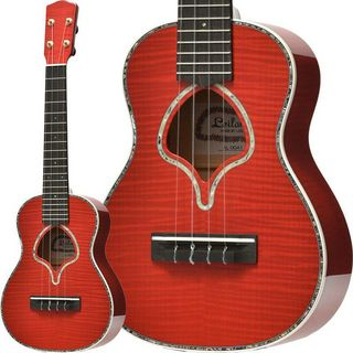 Leilani LUK-2000C/Flame Maple (Ruby Red) [Concert Ukulele]