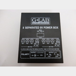 G-LAB  8 Separated 9V Power Box