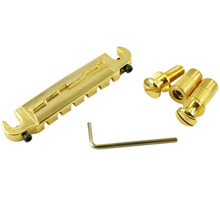 WD Music WD MUSIC COMPENSATOR TAILPIECE GOLD コンボブリッジ ゴールド