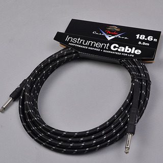 Fender CUSTOM SHOP PERFORMANCE SERIES CABLES (STRAIGHT-STRAIGHT ANGLE) 18.6ft シールド 【新品】