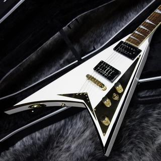 Jackson RR5 WHITE/BLACK BEVELS