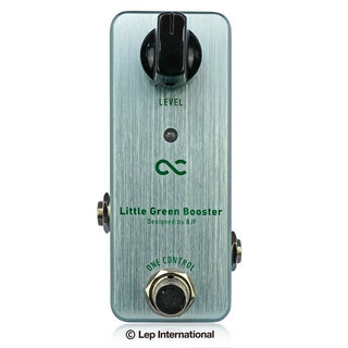 ONE CONTROL Little Green Booster【ブースター】【Webショップ限定】