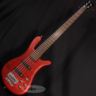 "Warwick German Team Built Streamer LX 5st ""Flame Maple Top"" (Burgundy Red Transparent Satin) 【特価】"