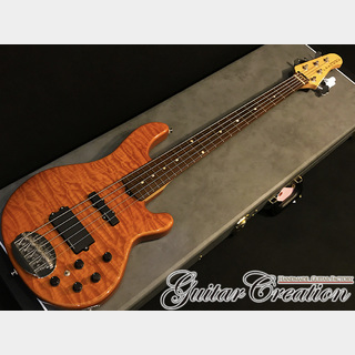 Lakland SK-5DX Amber Translucent / Rose FB '10年製【SKYLINE JAPAN SERIES】4.33kg