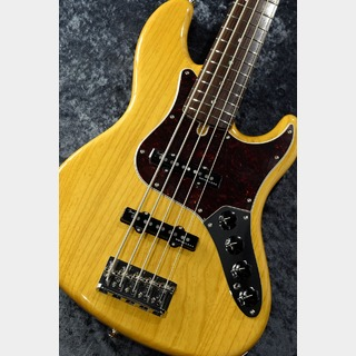 Fender Made in Japan Limited Deluxe Jazz Bass V -Vintage Natural-【NEW】