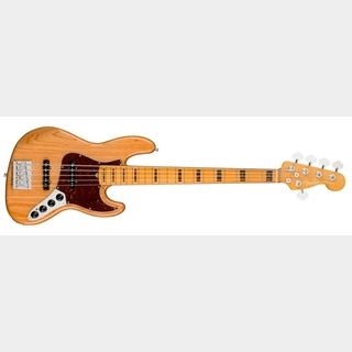 Fender American Ultra Jazz Bass V - Aged Natural / M -【NEW】【取り寄せ商品】