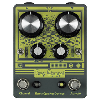 Earth Quaker Devices Gray Channel Dynamic Dirt Doubler 【即納可能】