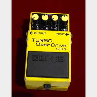 BOSS OD-2 Turbo OverDrive 【中古】【ACAアダプター対応】