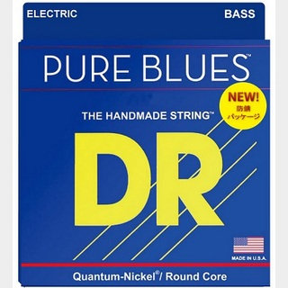 DR PURE BLUES PB-45 ROUND CORE QUANTUM-NICKEL WOUND 45-105 Long Scale MEDIUM 【渋谷店】