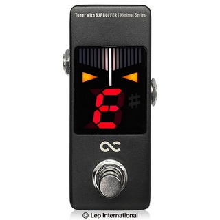 ONE CONTROL Minimal Series Tuner with BJF BUFFER -TUNE POWERED BY KORG-